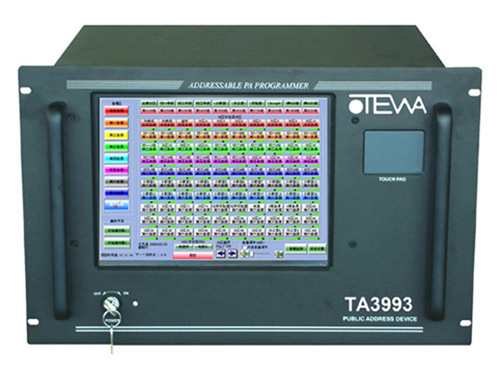 TA3993 数码多址分区定时播放器