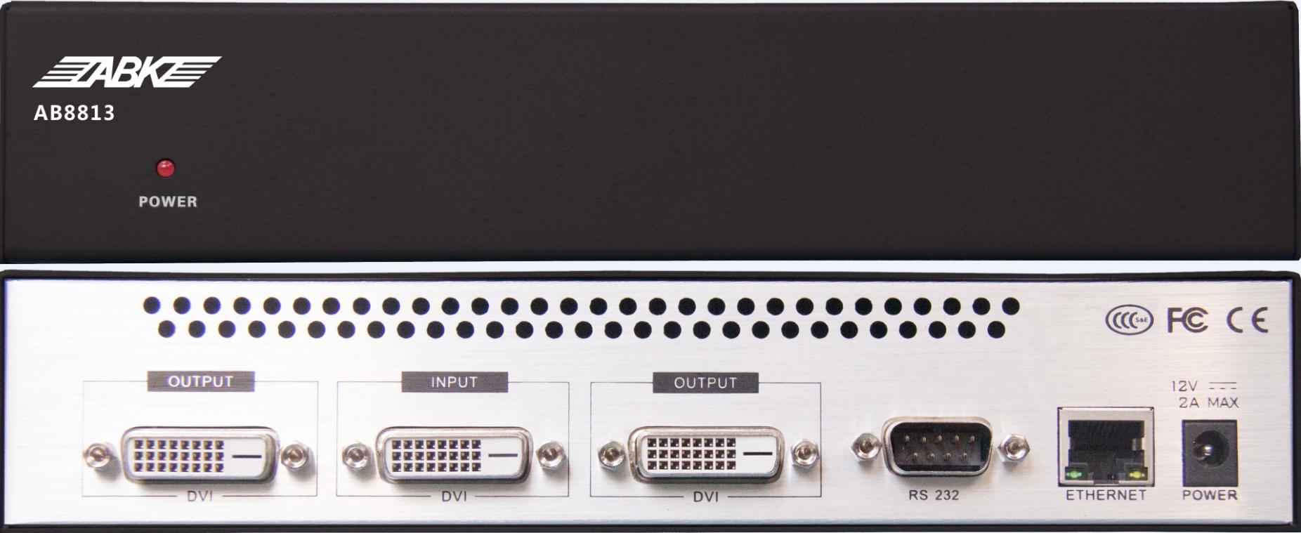 AB8813分布式数字高清融合处理器