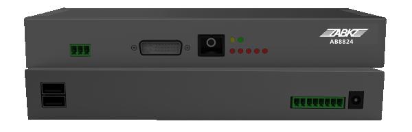 AB8824分布式数字高清音视频矩阵输入终端